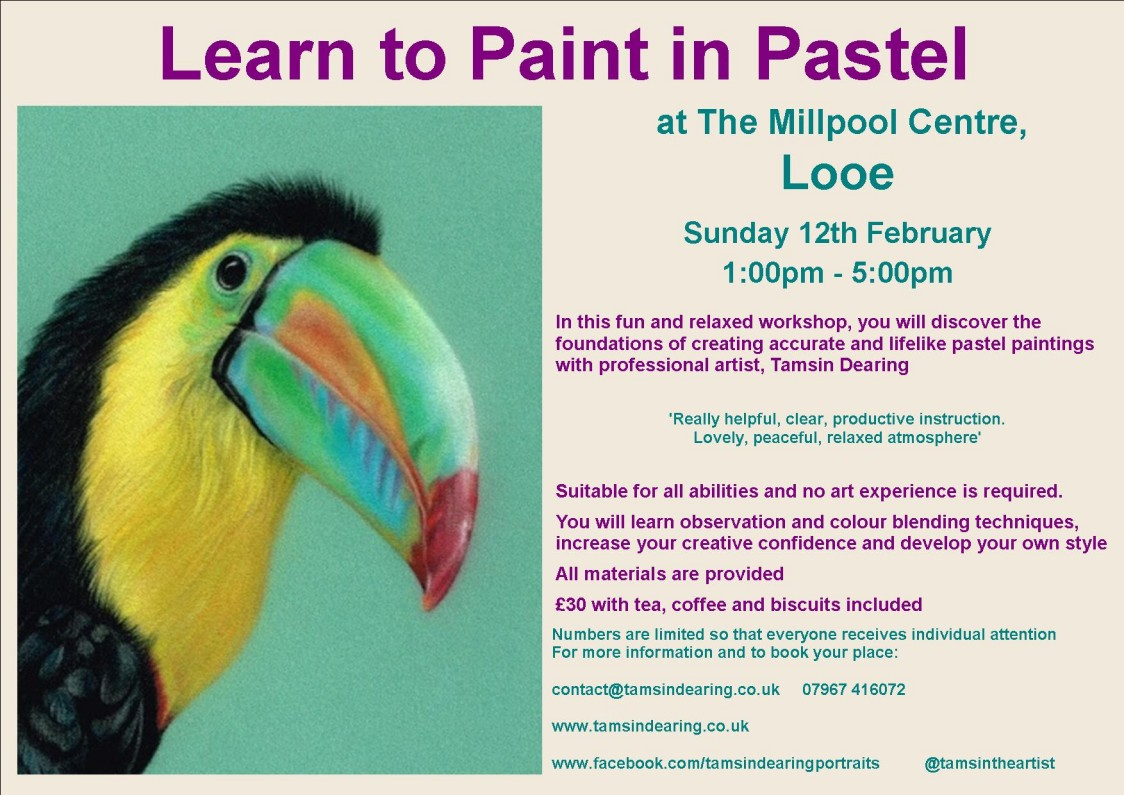 Learn to Paint in Pastel - Looe  12-02-17
