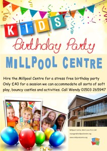 MPC Birthday party poster March 19
