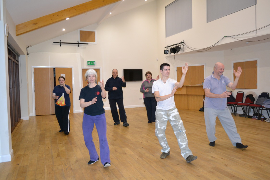 Tai chi at the Millpool Centre Wednesday evenings from September 9th 2015